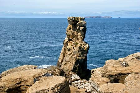 Cape Carvoeiro in Peniche, Portugal