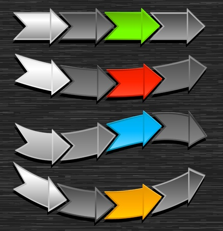 vary: Arrows Vector Design