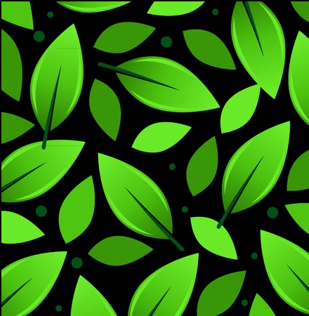 Leaves Pattern Illustration Illustration