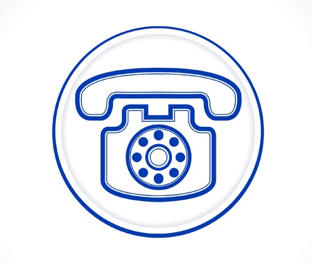 phone icon: Contact us   Call center Icon Illustration