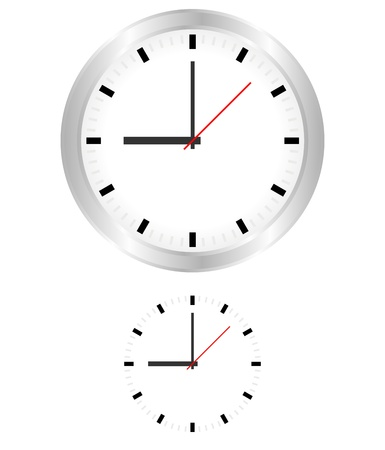 Clock Stock Vector - 16727430