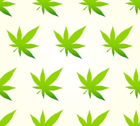 Marihuana Pattern Stock Vector - 16727443