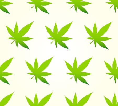 Marihuana Pattern Stock Vector - 16727443