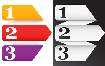 3d Vector banner in Two variation Stock Vector - 17076667