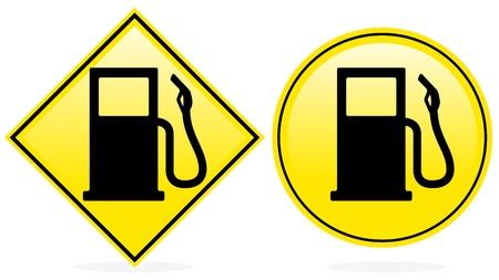Petrol Icon, Fuel Pump Icon Stock Vector - 17076671