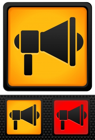 Loudspeaker Graphics Stock Vector - 17660104