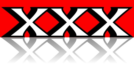 Red X-es, Crosses Vector Concept Image Vector