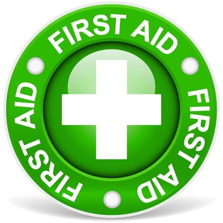 hilfsmittel: Erste-Hilfe-Sign Green Version