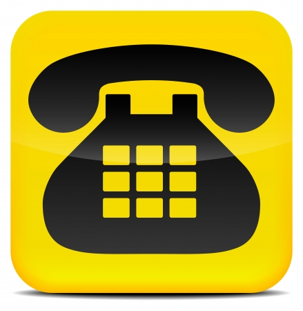Contact - Telephone - Contact us stylish icon Vector