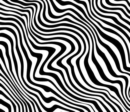 Distored Abstract Lines Background