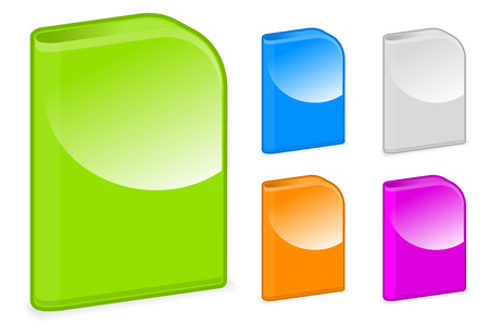 cd case: Cajas de Software redondeadas