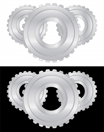enginery: Gears composition Illustration