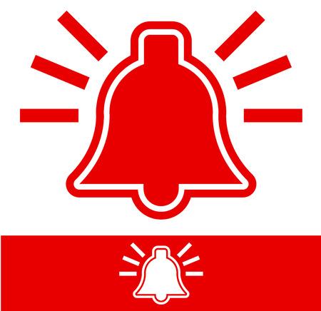 Se�al de alarma Campana Campana Pictograma