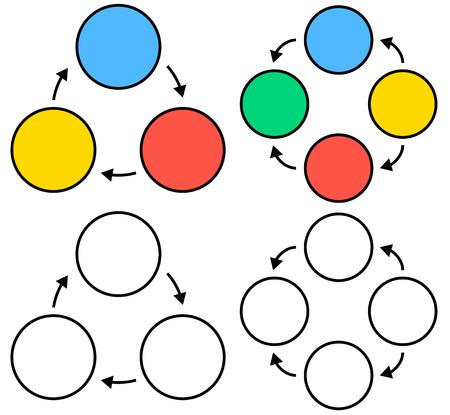 mindmap: Circle chart info graphics