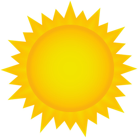 Icono de sol Vectores