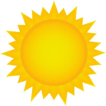 Sun icon Иллюстрация