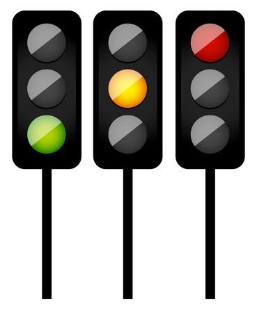 yelllow: Traffic light