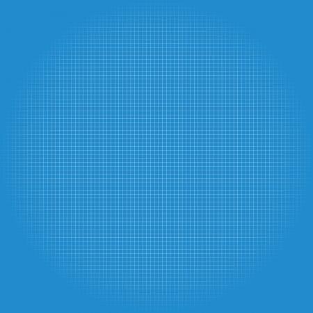 hoja cuadriculada: Papel de impresi�n azul, papel cuadriculado, papel gr�fico ilustraci�n vectorial editable