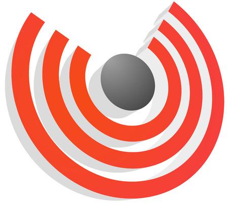 gprs: 3d signal symbol