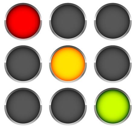 autoscuola: Semafori, segnali di controllo, lampade stradali