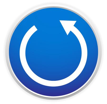 Loop arrow Illustration