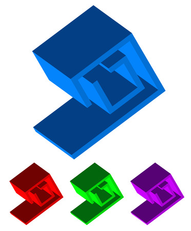 extrusion: Abstract 3d shape