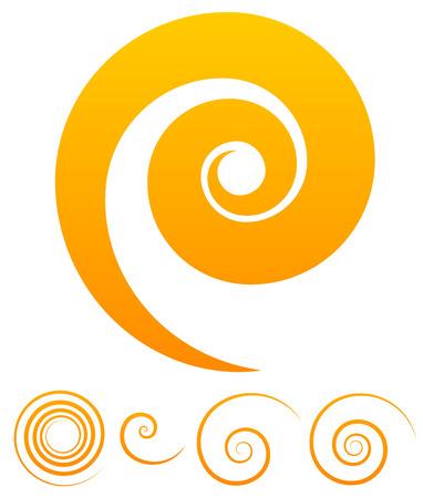 Spiral vectors