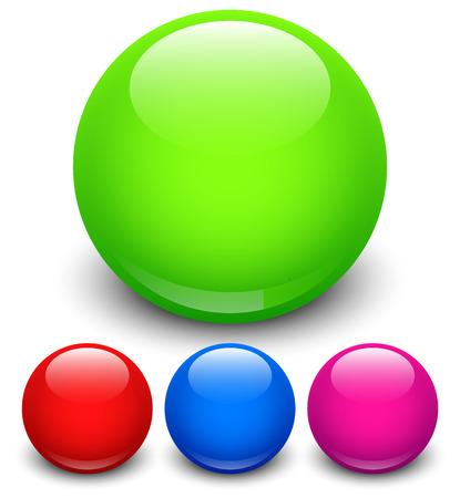 orbs: Glossy orbs