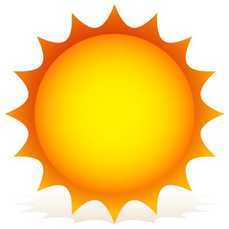 Sun vector clipart.