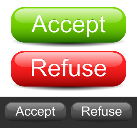 accept:  Accept ,  Refuse  buttons