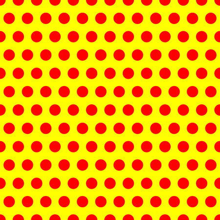 Polkadot, pop-art pattern Illustration