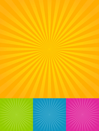 Ray backgrounds Vector