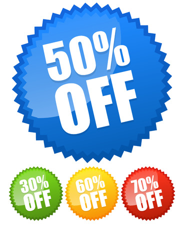60 70: 30, 50, 60, 70 percent off price flashes