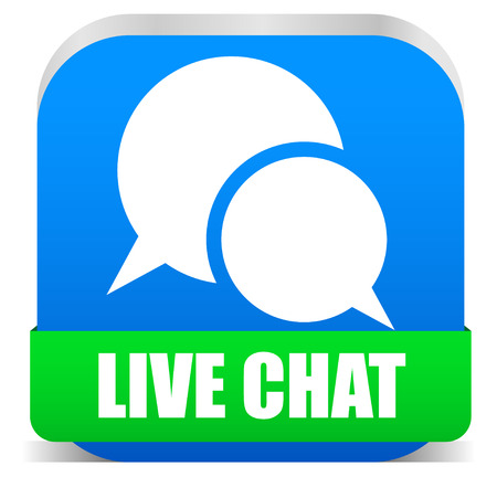 Live chat Vector