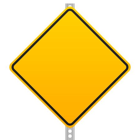 roadsign: Empty roadsign graphics Illustration