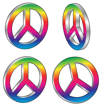 pacificist: peace signs