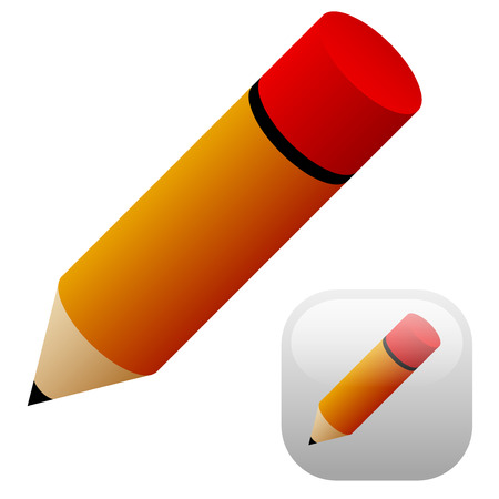 Pencil with background Vector