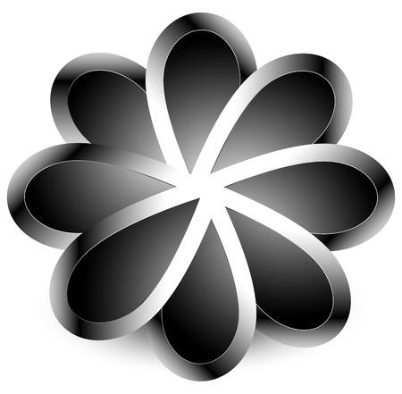 Abstract shape - rotation