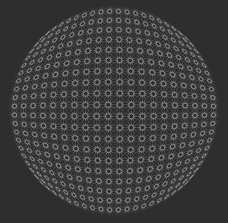 spherule: Abstract sphere element Illustration