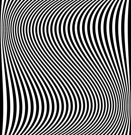 Distorted lines - Wavy, dynamic lines