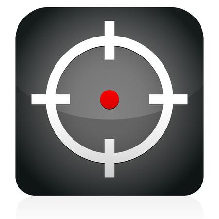 reticle: Crosshair, target icon