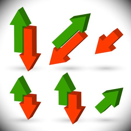 upward: Upward, downward arrows