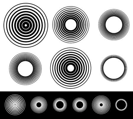circulos concentricos: Circles
