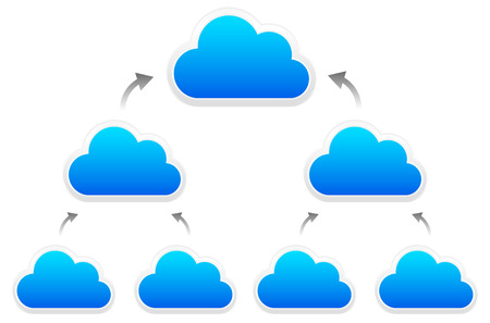topology: Cloud topology Illustration
