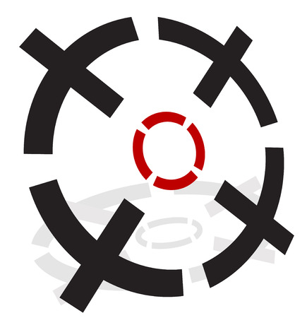 3d Crosshairs, reticle