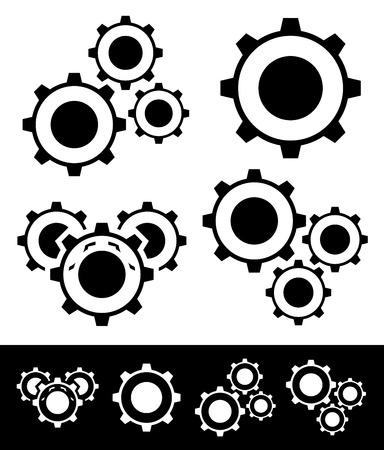 Gear compositions Vector