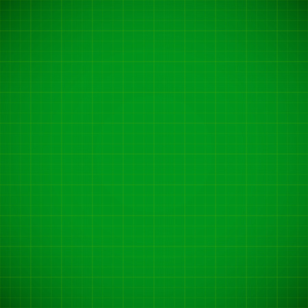 Green gridded background Vectores