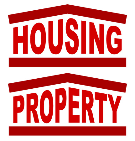 Graphic for housing, real estate concepts Vector