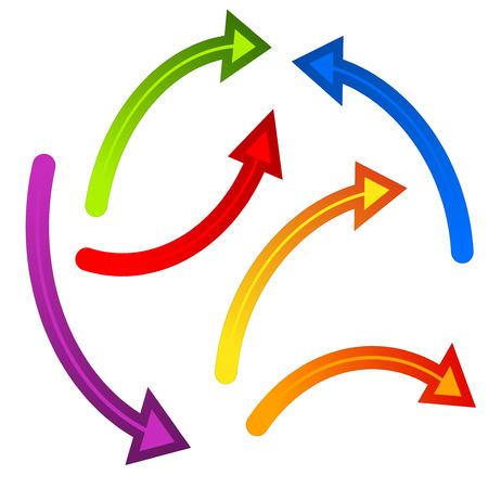 flechas: Flechas Vectores