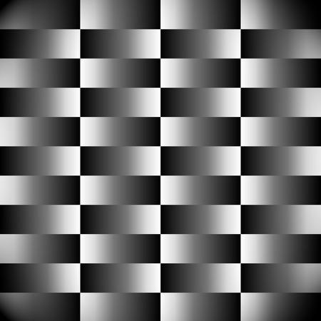 illustion: Bevel, optical illustion, contrast  background in vector format
